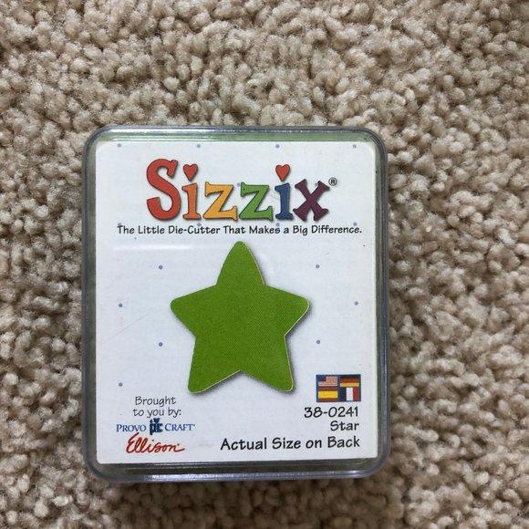 Sizzix Brand Die-Cutter Craft Paper Cutting Tool Star